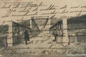 1916 Pantano de la Peña, Huesca. Viaducto para la carretera. Serie B-20
