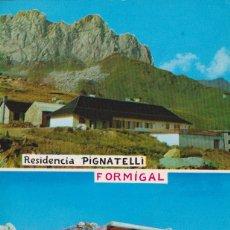 Postales: FORMIGAL (HUESCA), SALLENT DE GÁLLEGO, RTE. EL CANTAL - GIF - ESCRITA. Lote 152446770