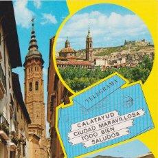 Postales: CALATAUYD, BELLEZAS DE LA CIUDAD - EXCL. BERDEJO Nº 13 - S/C. Lote 152446982