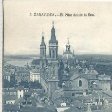 Postales: ZARAGOZA EL PILAR SIN ESCRIBIR. Lote 152448438