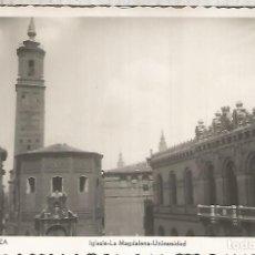 Postkarten - ZARAGOZA IGLESIA MAGDALENA SIN ESCRIBIR - 152448550