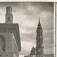 Postales: ZARAGOZA LA SEO SIN ESCRIBIR. Lote 152449078
