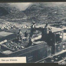 Postales: VILLANUA-FERROCARRIL-8-ED·HERAS-POSTAL ANTIGUA-(57.206). Lote 152470478