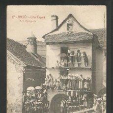 Postales: ANSO-UNA CAPEA-17-F.H. FOTOGRAFO-POSTAL ANTIGUA-(57.214). Lote 152472458
