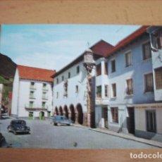 Postales: BIELSA ( HUESCA ) PLAZA MAYOR Y AYUNTAMIENTO SIGLO XVI. Lote 152847930