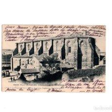 Postales: TERUEL.- ABSIDE DE LA IGLESIA DEL CONVENTO DE S FRANCISCO. Lote 153699146