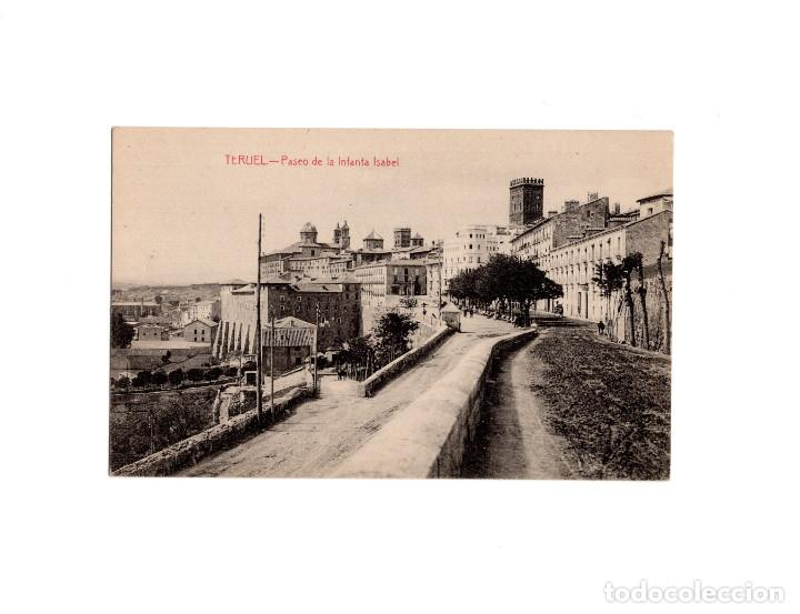 TERUEL.- PASEO DE LA INFANTA ISABEL. (Postales - España - Aragón Antigua (hasta 1939))