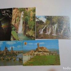Postales: ZARAGOZA LOTE POSTALES TARJETAS POSTALES ANTIGUAS . Lote 153867350