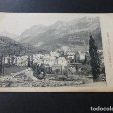 Postales: SALLENT DE GALLEGO HUESCA VISTA PARCIAL. Lote 153921486