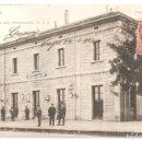 Postales: CASPE (ZARAGOZA) ESTACIÓN FERROCARRIL M.Z.A. FOT.LACOSTE-MADRID.. Lote 154171762