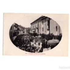 Postales: JACA.(HUESCA).- CONJUNTO PARCIAL DE A PROCESIÓN. SANTA OROSIA. Lote 154413458