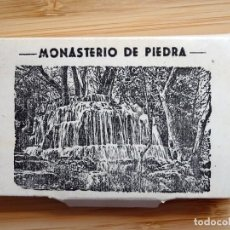Postales: LIBRILLO ACORDEÓN DE POSTALES DEL MONASTERIO DE PIEDRA. Lote 154516446