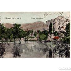 Postales: ALHAMA DE ARAGÓN.- LAGO DE LAS TERMAS. V. P PARIS. NUM 4. EDICIÓN FRANCESA. Lote 154702298
