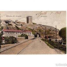 Postales: ALHAMA DE ARAGÓN.- EL CASTILLO. V. P PARIS. NUM 7. EDICIÓN FRANCESA. Lote 154702366