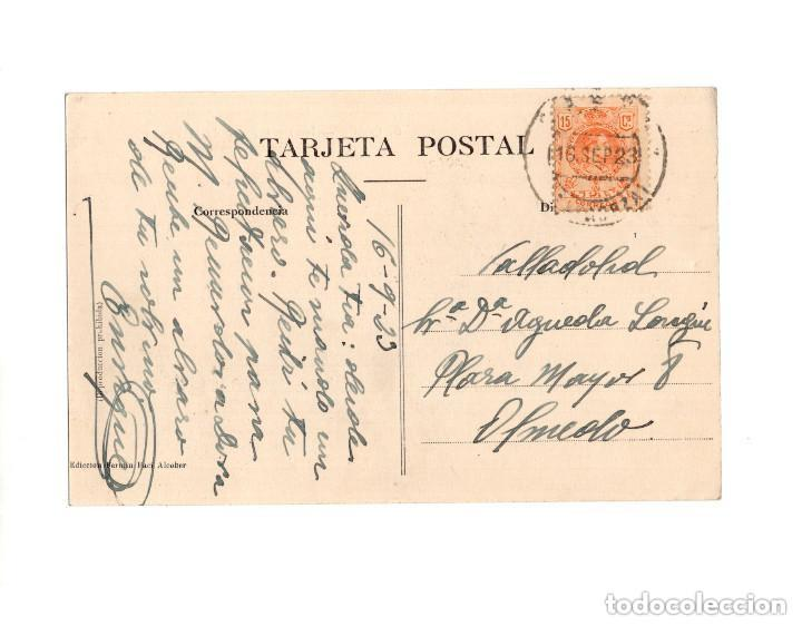Postales: CASPE.(ZARAGOZA).- IGLESIA Y PLAZA DE LA VIRGEN - Foto 2 - 154703594