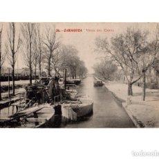 Postales: ZARAGOZA.- VISTA DEL CANAL. Lote 154703690