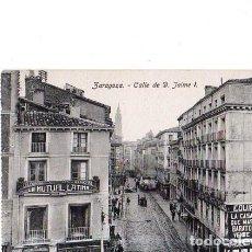 Postales: TARJETA POSTAL DE ZARAGOZA. CALLE DE D. JAIME I. . Lote 154774298