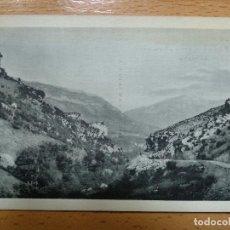 Postales: EJEA-PINTORESCO CONGOSTO A LA ENTRADA DEL PUEBLO -HAUSER Y MENET.MADRID- FOTO L.GARUZ. HUESCA. Lote 154816558