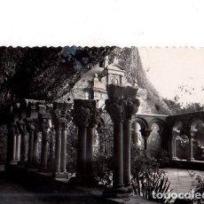 Postales: TARJETA POSTAL DE SAN JUAN DE LA PEÑA. HUESCA. CLAUSTRO ROMANICO.. Lote 154939890