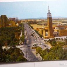 Postales: POSTAL ZARAGOZA- AV.ISABEL CATOLICA -FERIA MUESTRAS. Lote 155343070