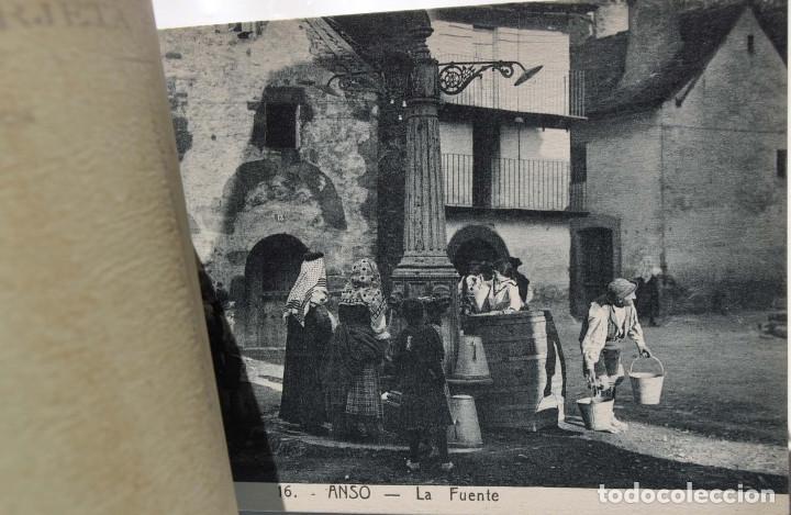 Postales: UN VIAJE A ANSÓ- LA FOZ DE BINIÉS - ÁLBUM COMPLETO. ED. F. DE LAS HERAS. JACA - Foto 5 - 155347898