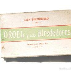 Postales: JACA.- PINTORESCO. OROEL Y SUS ALREDEDORES - ÁLBUM COMPLETO. ED. F. DE LAS HERAS. COLECCIÓN JACA. Lote 155349450