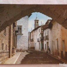 Postales: POSTAL SARRION TERUEL Nº 4 CALLE TERUEL Y ARCO DEL PILAR ESCRITA. Lote 155372990