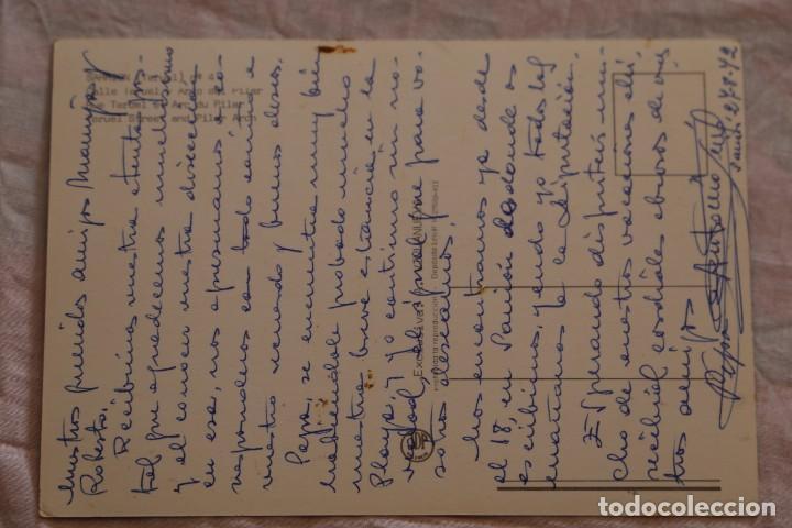 Postales: POSTAL SARRION TERUEL Nº 4 CALLE TERUEL Y ARCO DEL PILAR ESCRITA - Foto 2 - 155372990