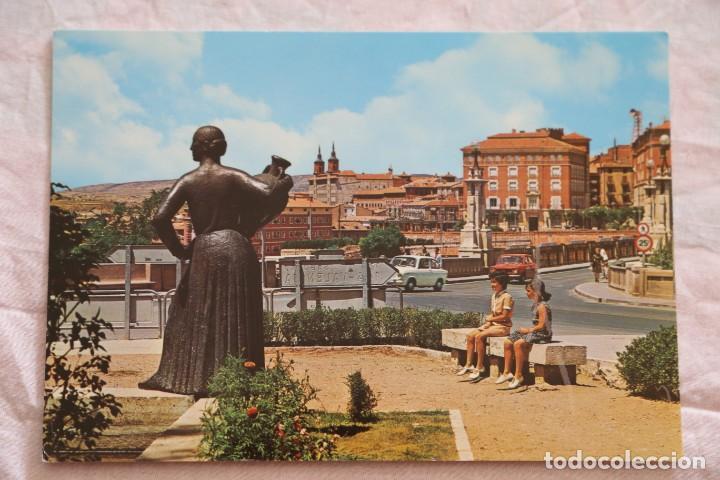 TERUEL. 44 VISTA PARCIAL. GARCÍA GARRABELLA.SIN CIRCULAR SEAT 850 127 (Postales - España - Aragón Moderna (desde 1.940))
