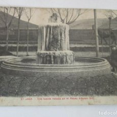 Postales: ANTIGUA POSTAL - JACA - FUENTE HELADA, PASEO ALFONSO XIII - CIRCULADA - AÑO 1917. Lote 155735722