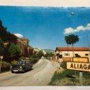Postales: ALIAGA (TERUEL) POSTAL ANIMADA. ENTRADA A LA VILLA. (A.1980). Lote 155862902
