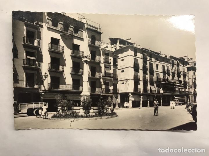 TERUEL. POSTAL NO.5 PLAZA DE CARLOS CASTEL (TORICO). EDITA: GARCIA GARRABELLA (H.1950?) (Postales - España - Aragón Moderna (desde 1.940))