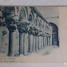 Postales: SAN JUAN DE LA PEÑA (ARAGÓN). EL CLAUSTRO (PONIENTE). COLECCIÓN F. ÁLVAREZ, SERIE A NÚM. 9. UPU. Lote 156507994
