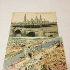 Postales: POSTALES DE ZARAGOZA. Lote 156572330