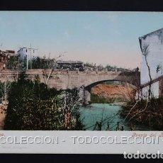 Postales: POSTAL ZARAGOZA PUENTE DEL HUERVA . CECILIO GASCA - PURGER & CO 2327 . CA AÑO 1900. Lote 156623242