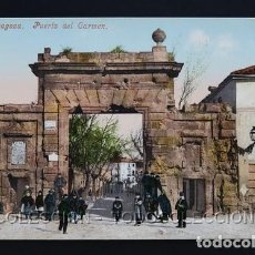 Postales: POSTAL ZARAGOZA PUERTA DEL CARMEN . CECILIO GASCA - PURGER & CO 2323 . CA AÑO 1900. Lote 156623350