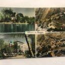 Postales: ALHAMA DE ARAGÓN (ZARAGOZA) POSTAL NO.32. VARIAS VISTAS DE LA CIUDAD . EDITA: ED. MONTAÑÉS (A.1962). Lote 156931617