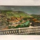 Postales: ALHAMA DE ARAGÓN (ZARAGOZA) POSTAL COLOREADA NO.15, MIRADOR DEL JALÓN. EDITA: ED. SICILIA (A.1962). Lote 156943110