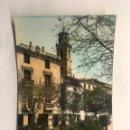 Postales: ARIZA (ZARAGOZA) POSTAL COLOREADA NO.7 TORRE SANTA MARIA Y JARDINES. EDITA: ED. PARIS. (H.1960?). Lote 156999800