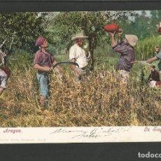 Postales: ARAGON-LA SIEGA-REVERSO SIN DIVIDIR-PURGER & CO 3195-POSTAL ANTIGUA-(57.995). Lote 157089510