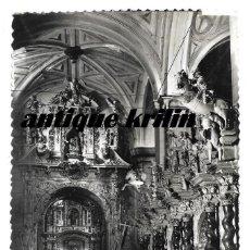 Postales - CALATAYUD Nº 31 DETALLE DEL CORO Y ALTAR NTRA . SRA. DE LOS DOLORES .- EDICIONES SICILIA - 157130650