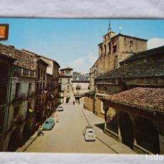 Postales: PIRINEO ARAGONES 1637(104) JACA HUESCA ESCUDO DE ORO-RENAULT CITROEN VW BEETLE. Lote 157130942