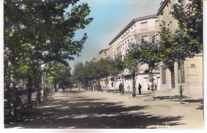 POSTAL DE CALATAYUD - PASEO DE CALVO SOTELO - ZARAGOZA . (Postales - España - Aragón Moderna (desde 1.940))