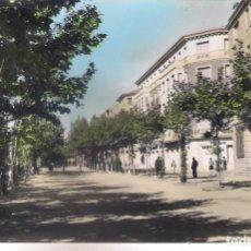 Postales: POSTAL DE CALATAYUD - PASEO DE CALVO SOTELO - ZARAGOZA .. Lote 157201406