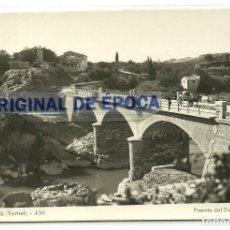 Postales: (PS-60017)POSTAL DE CALANDA-PUENTE DEL ESTRECHILLO. Lote 157746814