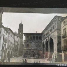 Postales: ALCAÑIZ - POSTAL PLAZA ESPAÑA. Lote 158897170