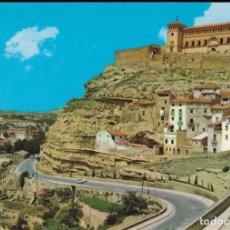 Postales: ALCAÑIZ (TERUEL) CASTILLO CALATRAVOS - COMERCIAL JOSAN Nº 6 - EDITADA EN 1966 - S/C. Lote 159088730