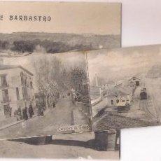 Postales: POSTAL RECUERDOS DE BARBASTRO ,CON MINI DESPLEGABLE .. Lote 159206058
