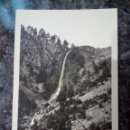 Postales: POSTAL DE BIELSA. CASCADA CHORRO DE LA PINARRA 1750 M. ALT.. Lote 159330036