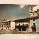Postales: ORIHUELA DEL TREMEDAL (TERUEL) POSTAL COLOREADA NO.10, DETALLE DE LA PLAZA. EDITA: ED. SICILIA. Lote 159918992